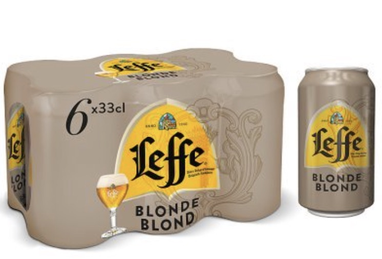 Leffe Blonde Can