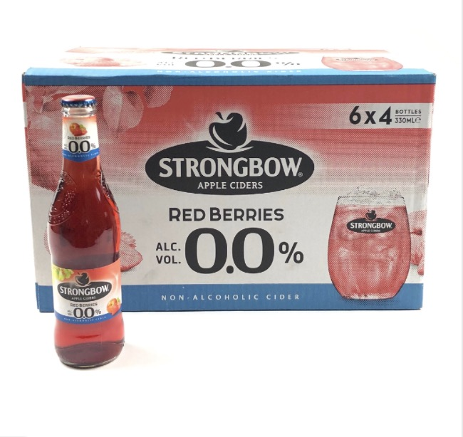 Strongbow Red Berries 0% (NA) OW