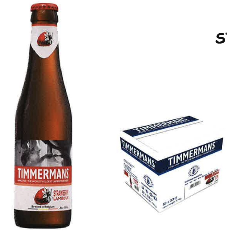 Timmermans Strawberry - Lambic OW